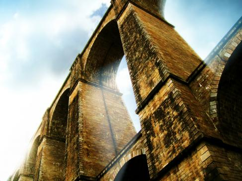 Most w Stańczykach - zwiedzanie