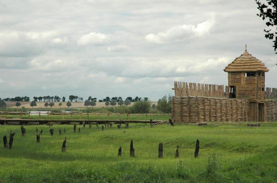 Gród w Byczynie - atrakcje