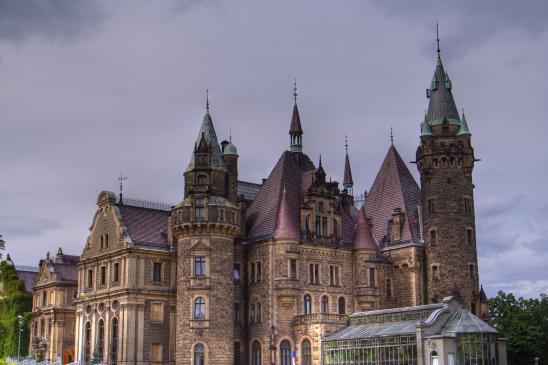 Zamek w Mosznej - zwiedzanie