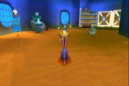 Spyro the Dragon - jak z miejsca wskoczyć na wyższą półkę skalną?