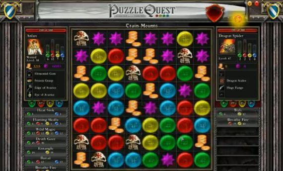 Puzzle Quest - jak szybko zdobyć 50 level?