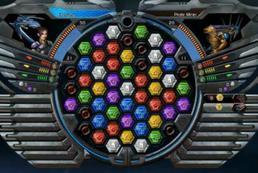 Galactrix - jak grać w Puzzle Quest?
