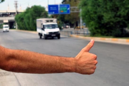 Jak złapać autostop?