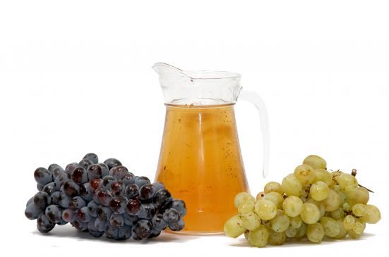 Sok z winogron - przepis