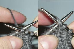Jak zrobić oczka lewe na drutach?