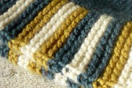 Jak zrobić ścieg francuski na drutach?